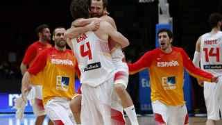 España celebra el título.