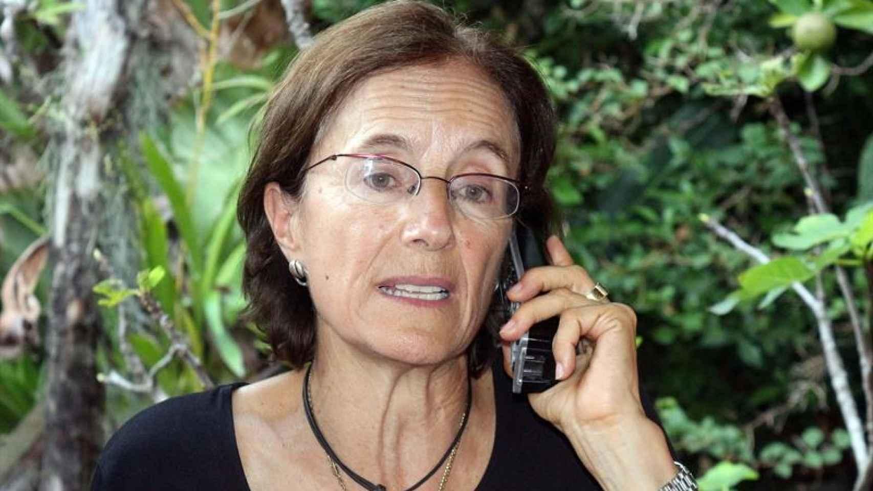 Salud Hernández tras ser liberada