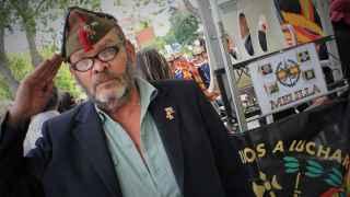 Santiago Pereda, veterano de la Legión.