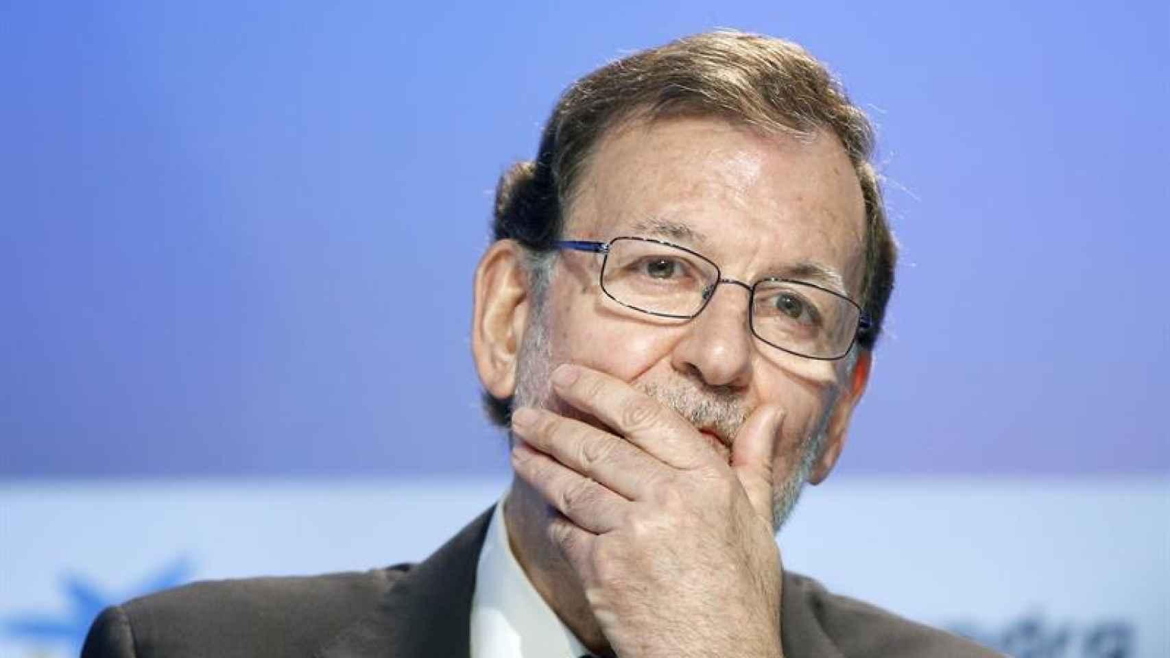 Mariano Rajoy en la clausura de la reunión del Circulo de Economía que se celebra de Sitges