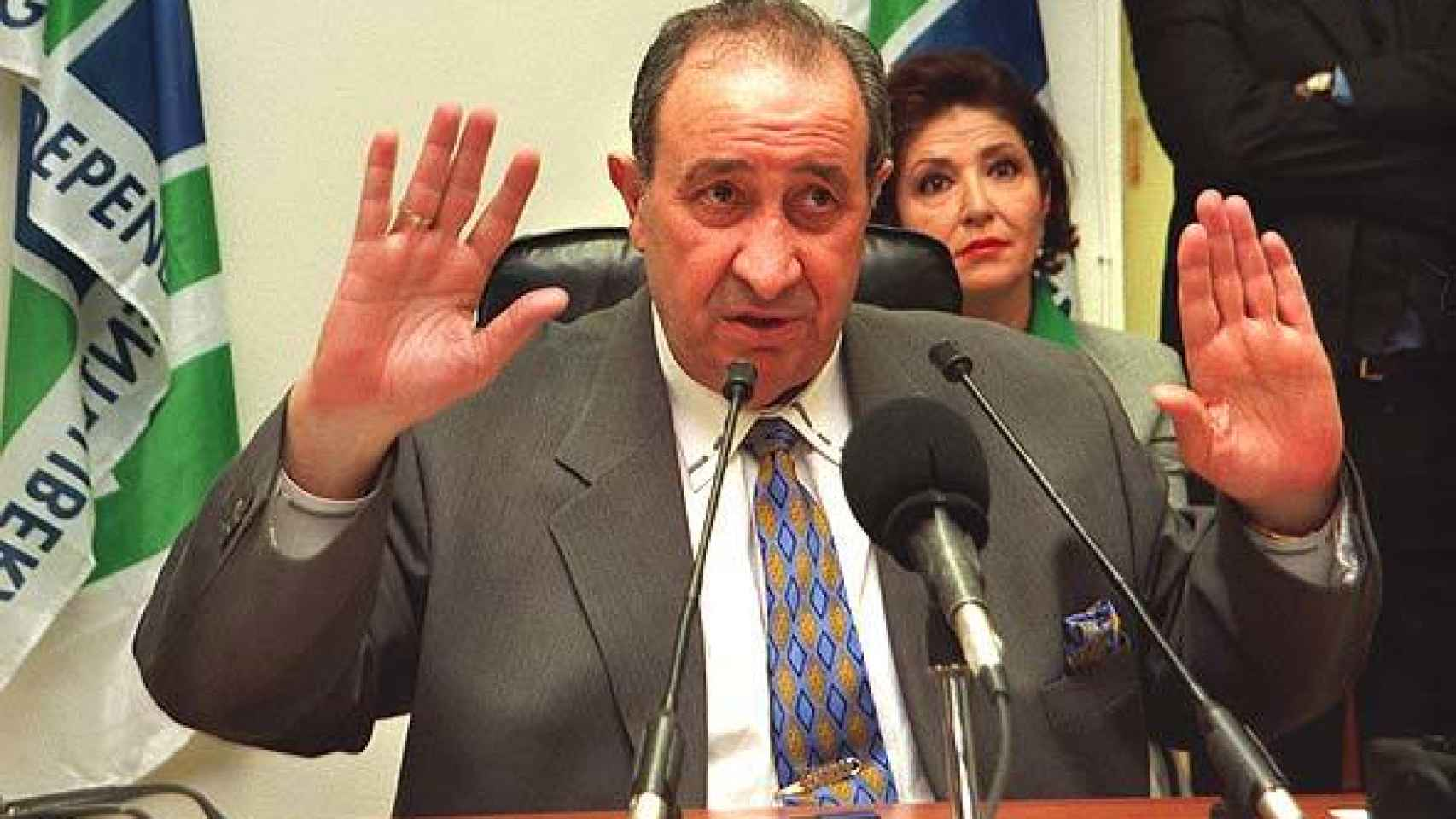 Jesús Gil montó su propio partido en 1991