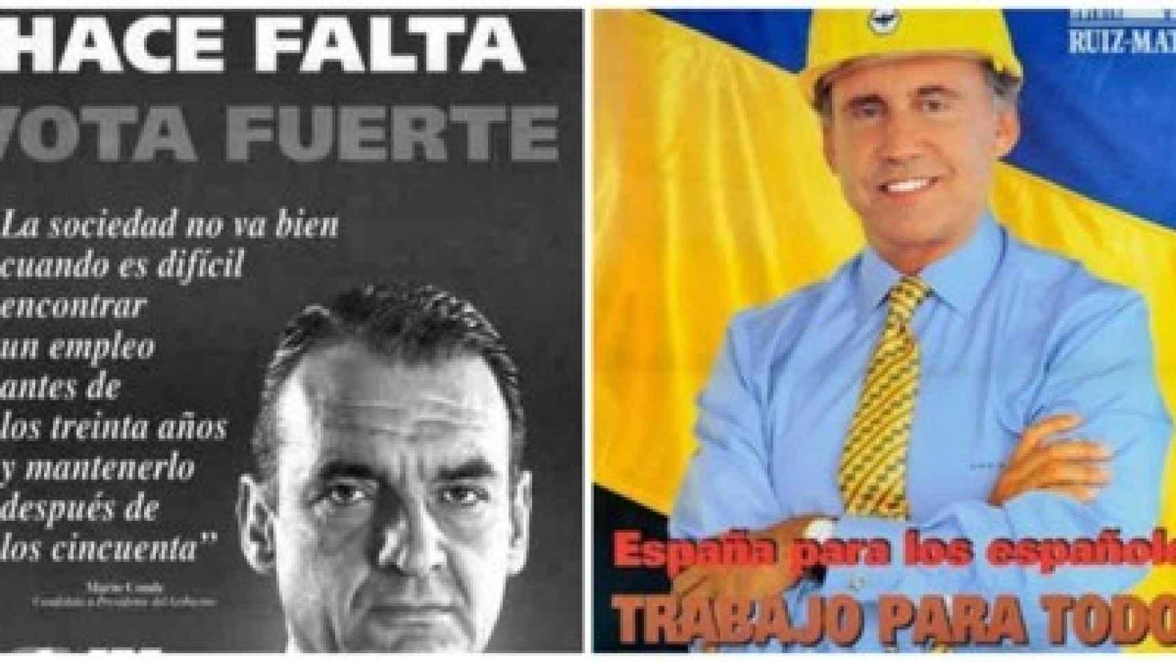 Ruiz Mateos también probó suerte en la política