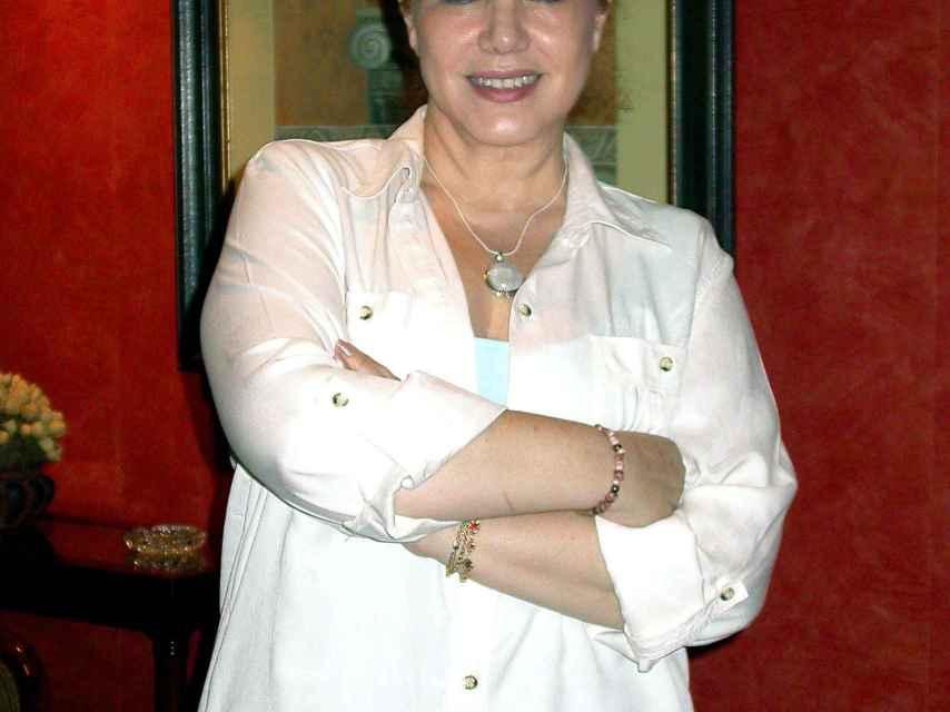 La cantante Karina fue candidata por el Partido Andalucista