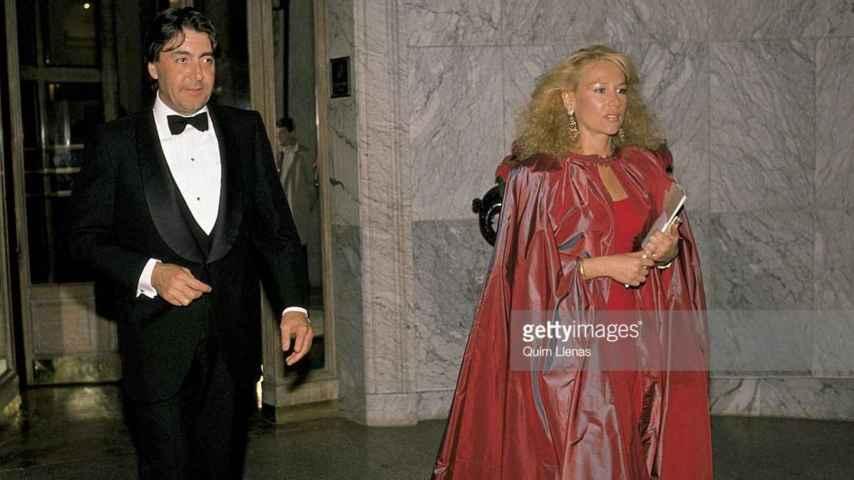 Alberto Cortina y Esther Koplowitz