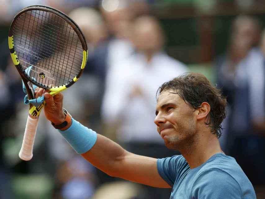 Nadal se despide de Roland Garros por su lesión de muñeca.