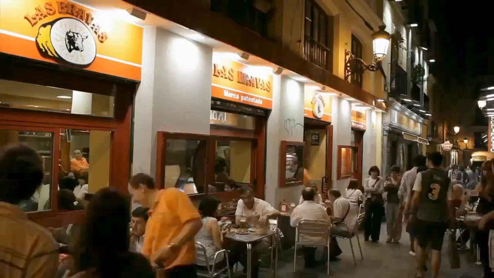 El local Las bravas, en el Callejón del Gato.
