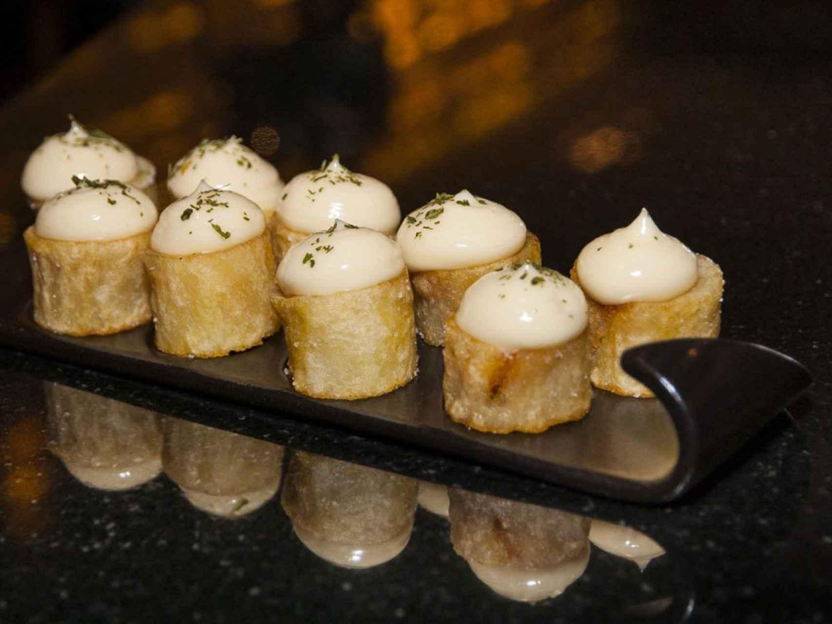 El toque original de las patatas bravas de Sergi Arola.