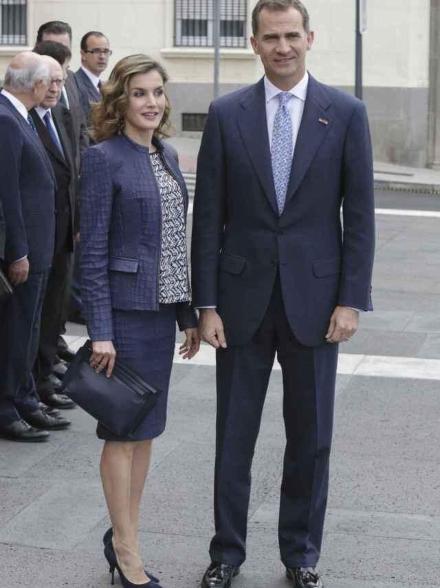 Los reyes Felipe VI y Letizia Ortiz
