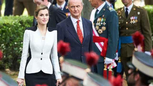 La reina Letizia en el Día de las Fuerzas Armadas