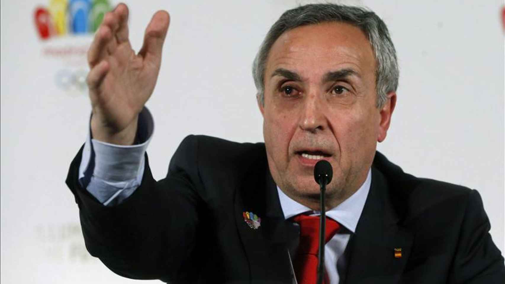 Alejandro Blanco, en rueda de prensa.