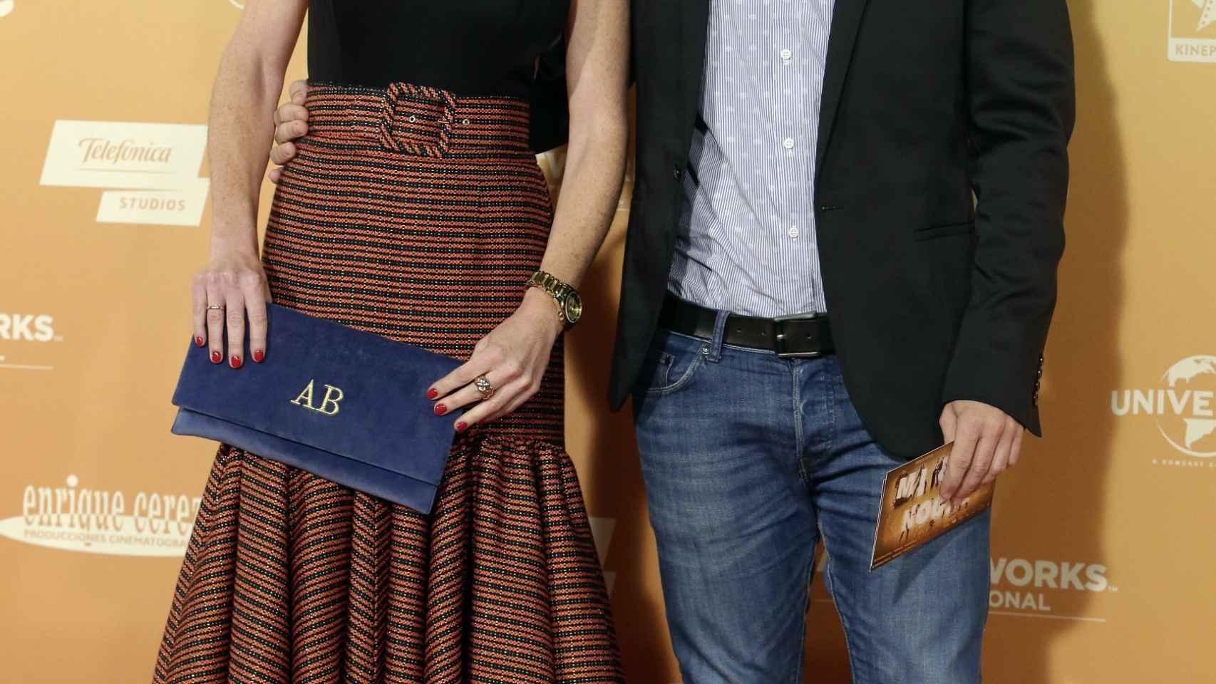 Amelia Bono y su marido Manuel Martos