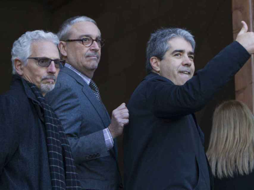 Homs, el pasado 7 de marzo tras declarar en el Tribunal Superior de Cataluña por el )N