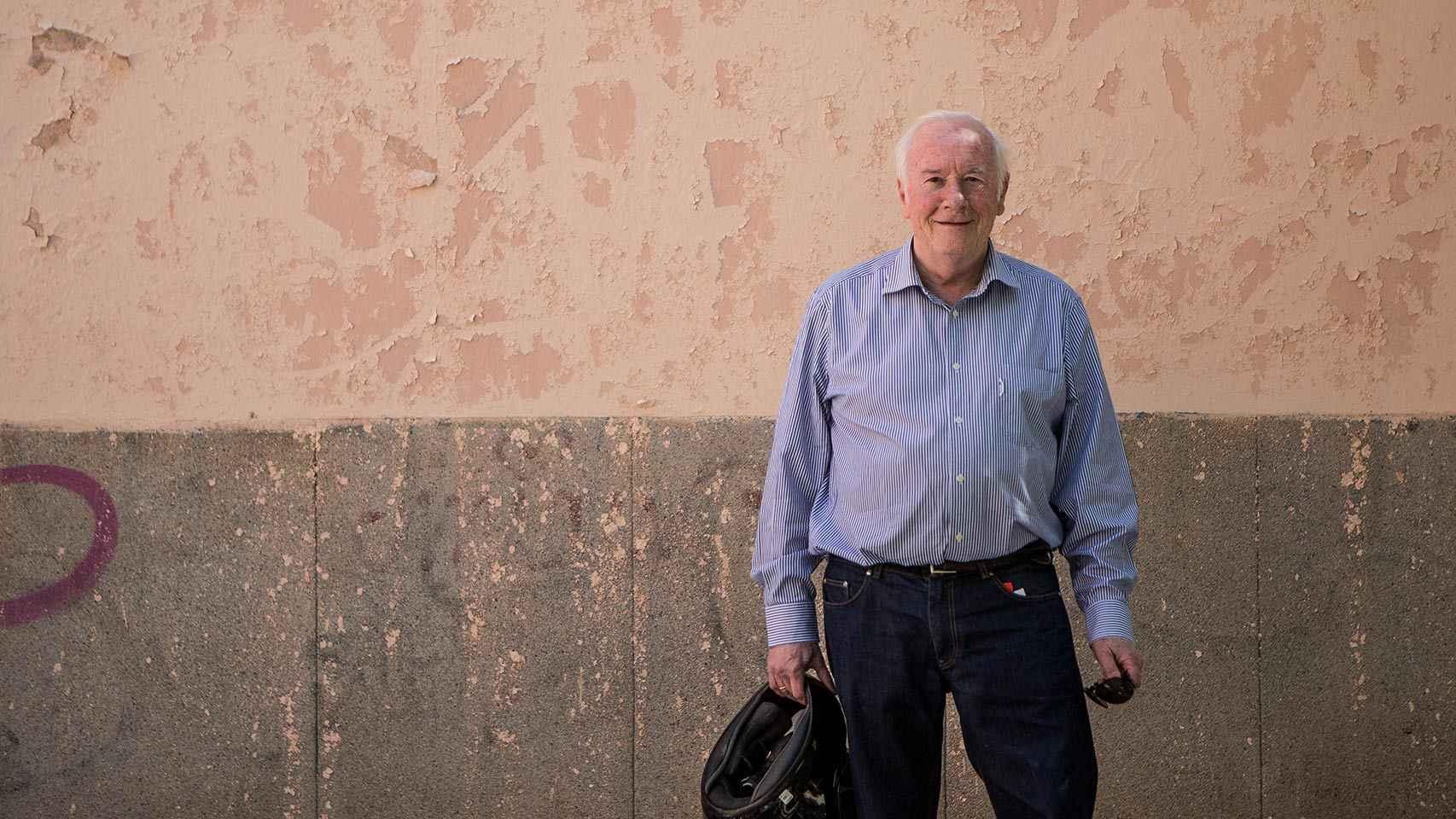 Manuel Bollaín, un director novato de 73 años.