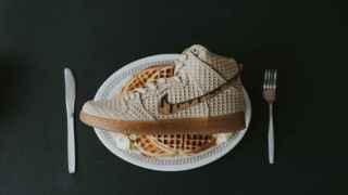 Nike te viste los pies de gofre y pollo