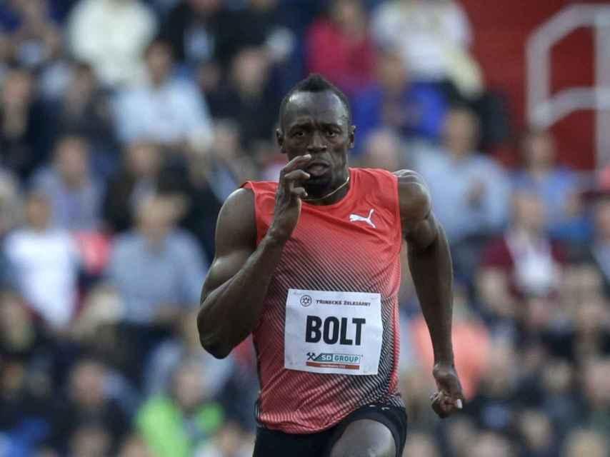 Usain Bolt, el pasado 20 de mayo, en Ostrava (República Checa).