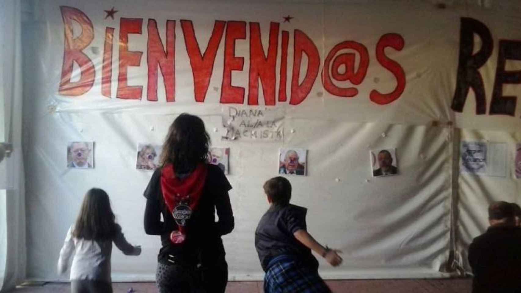 Una de las fotografías que circulan sobre la actividad en la que se apuntaba a miembros del PP.