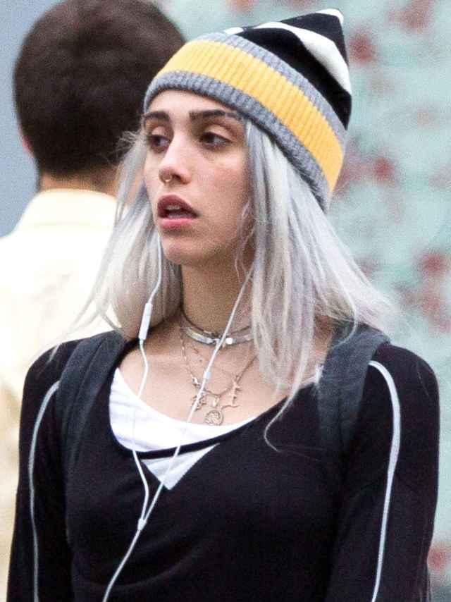 La hija de Madonna se pone un piercing en la nariz