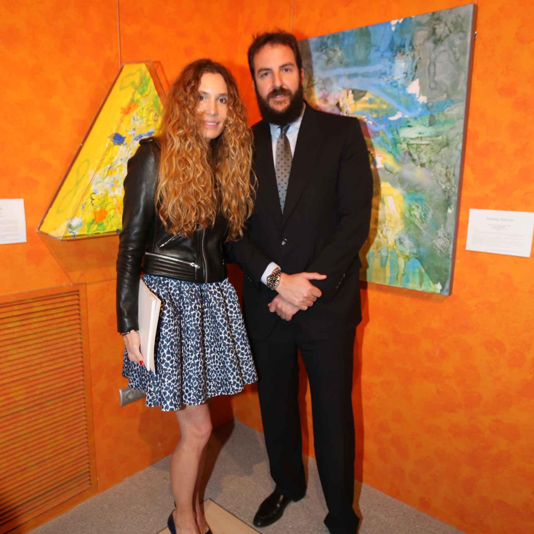 Borja Thysse y Blanca Cuesta