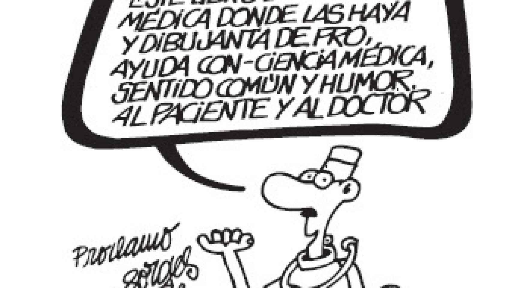 Humoristas veteranos también han leído a Lalanda.