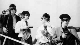 Llegada de The Beatles a Madrid en 1965.