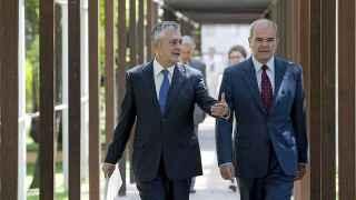Los dos ex presidentes de la Junta de Andalucía.