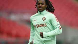 Portugal's Renato Sanches during training