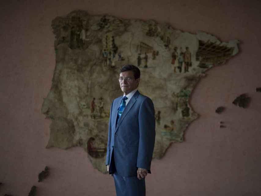 Aníbal Matos, portavoz de los testigos de Jehová en España.