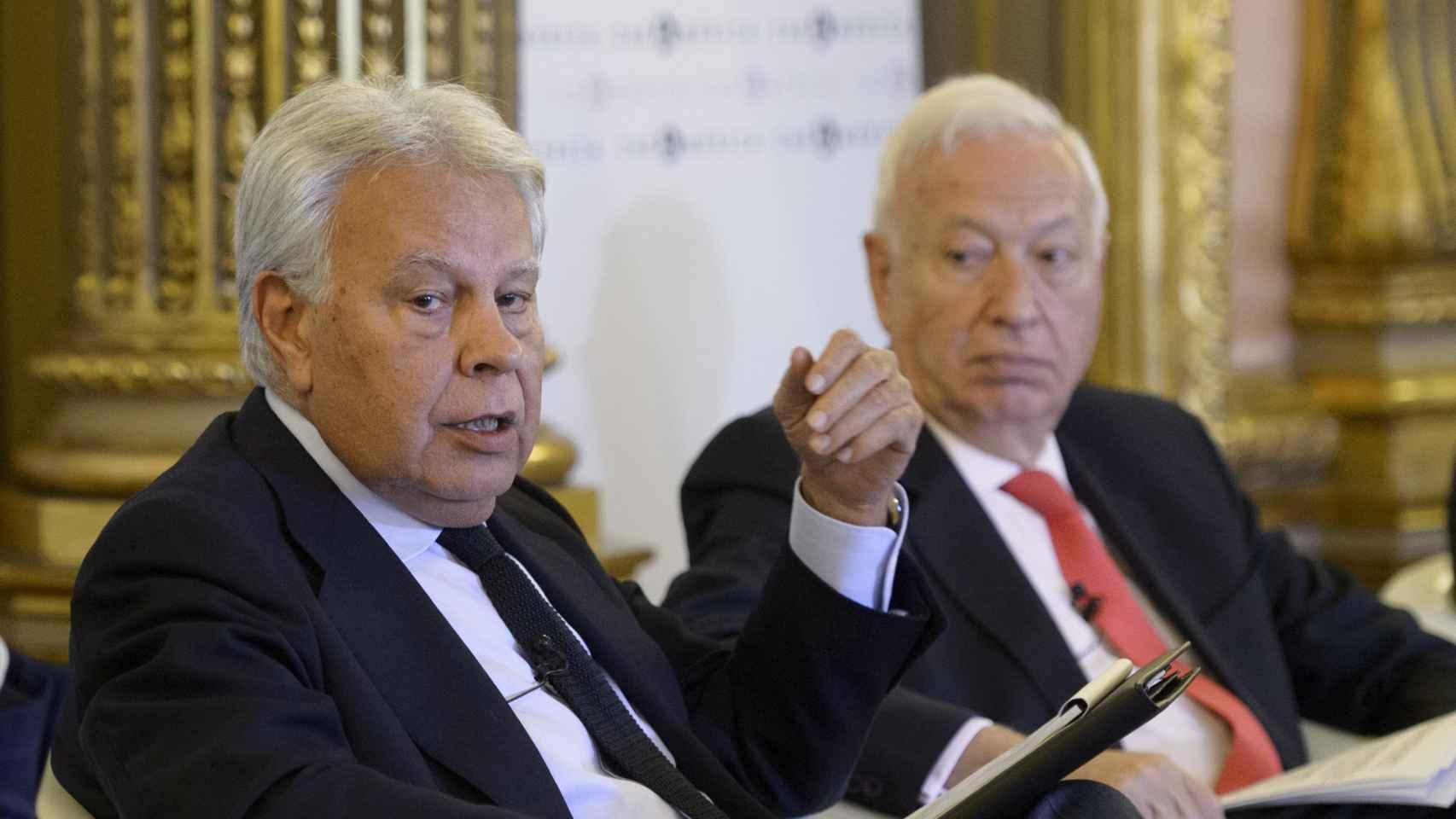 González y  García-Margallo, el 2 de junio en Casa de América.