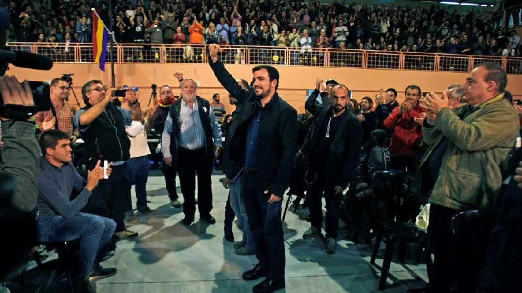 Garzón, en un mitin de campaña en las pasadas elecciones del 20-D.