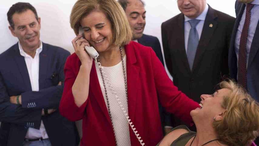 La ministra de Empleo y Seguridad Social en funciones, Fátima Bañez