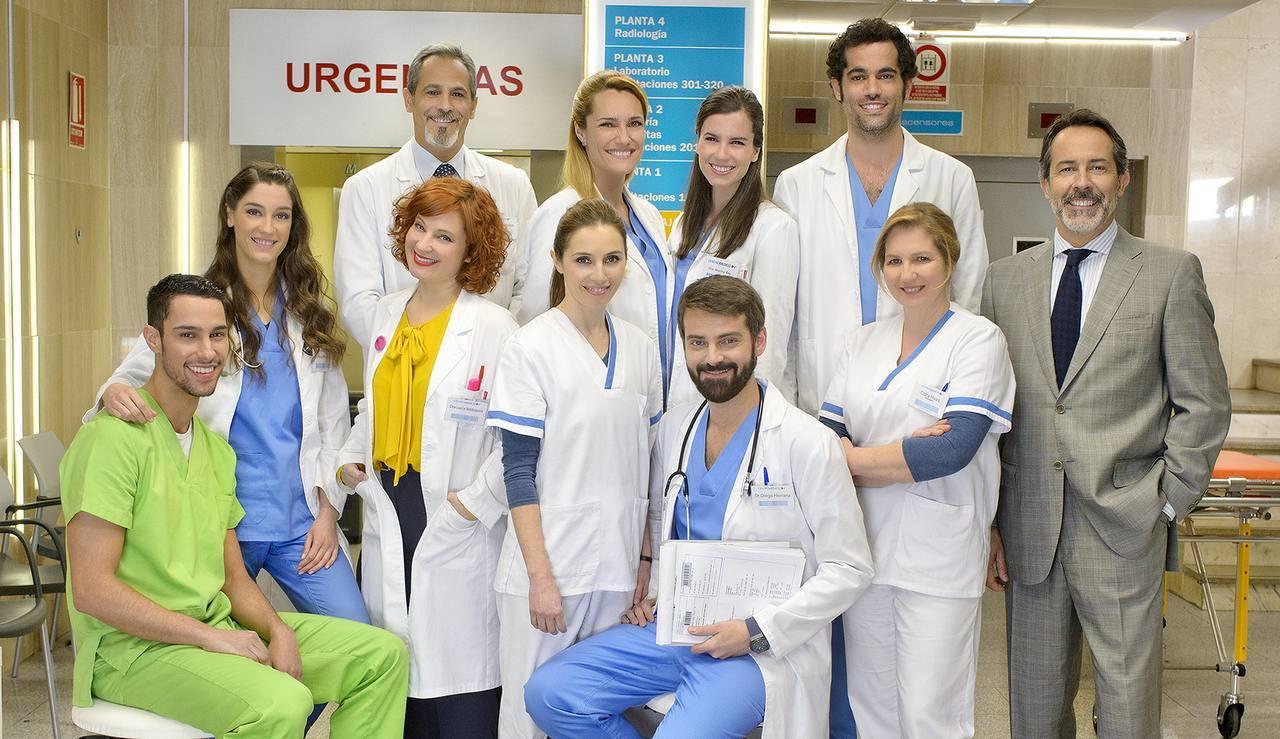 Los actores de Centro Médico.