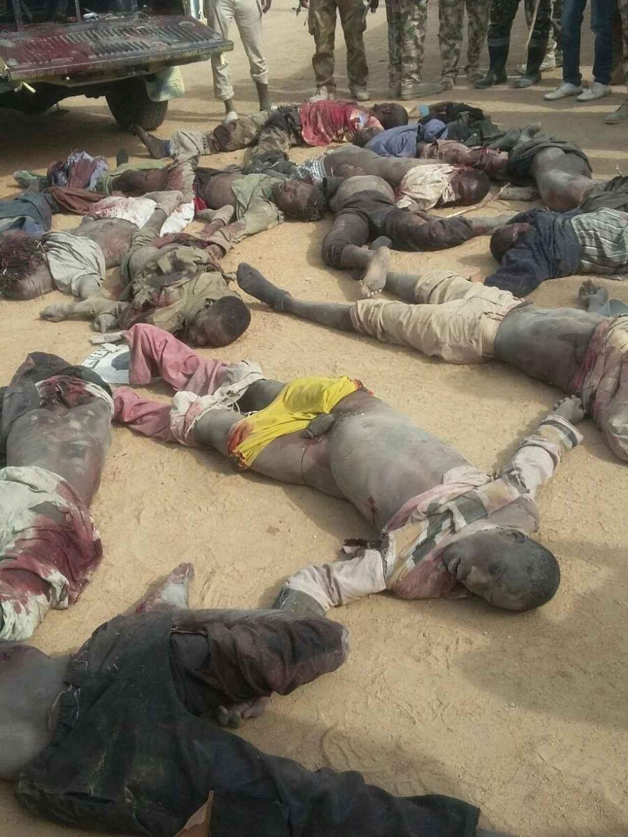 El grupo terrorista aniquilado durante el segundo ataque.