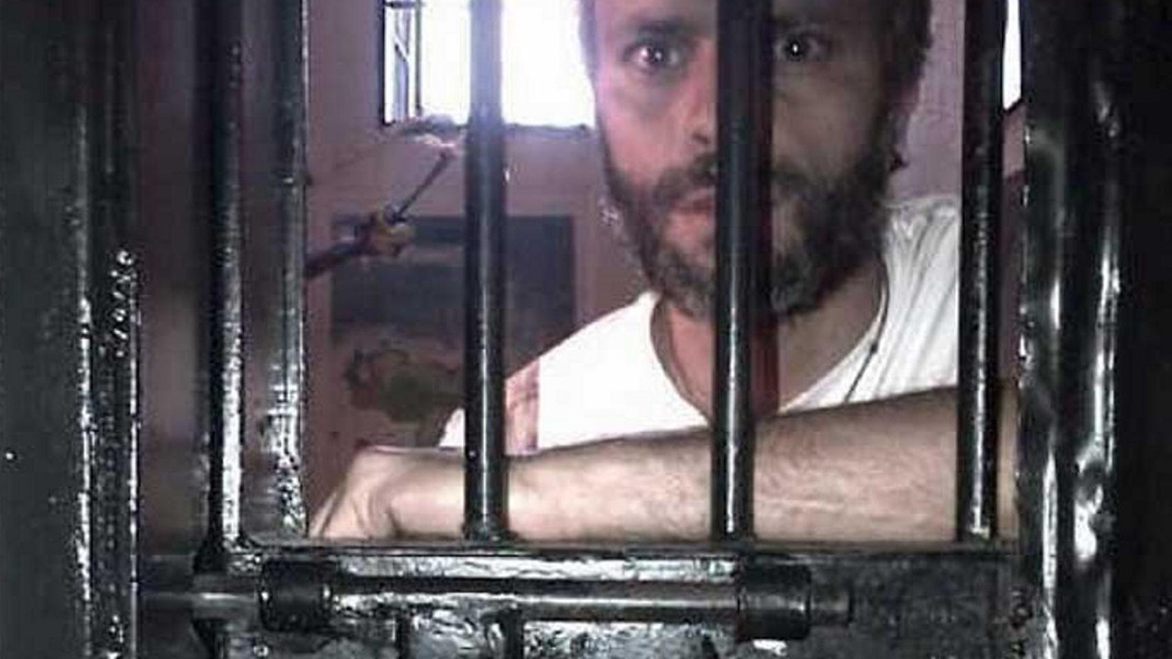 Una imagen de Leopoldo López en prisión.