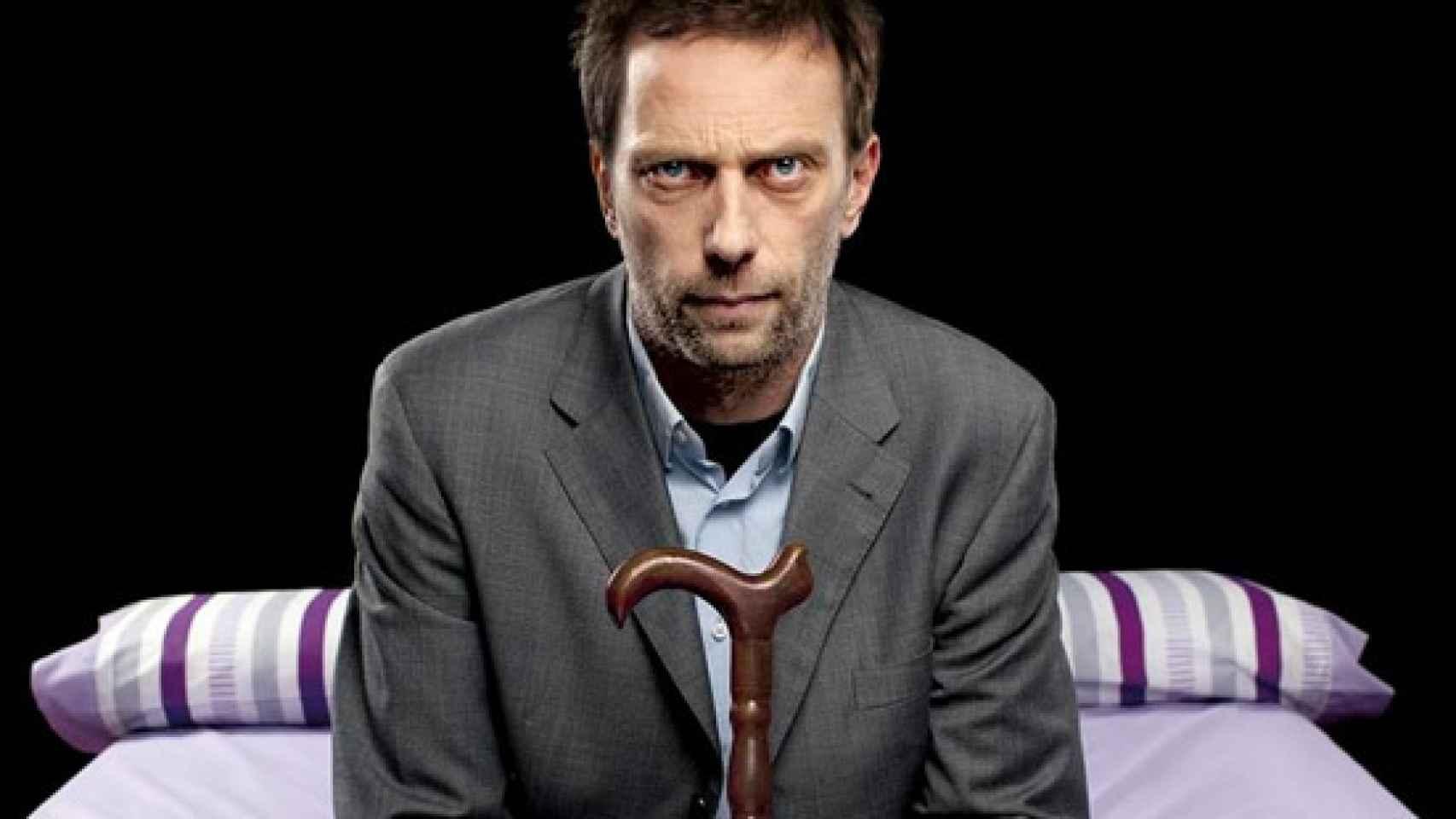 El doble de House es casi idéntico al actor Hugh Laurie