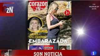 Amaia Salamanca espera su tercer hijo