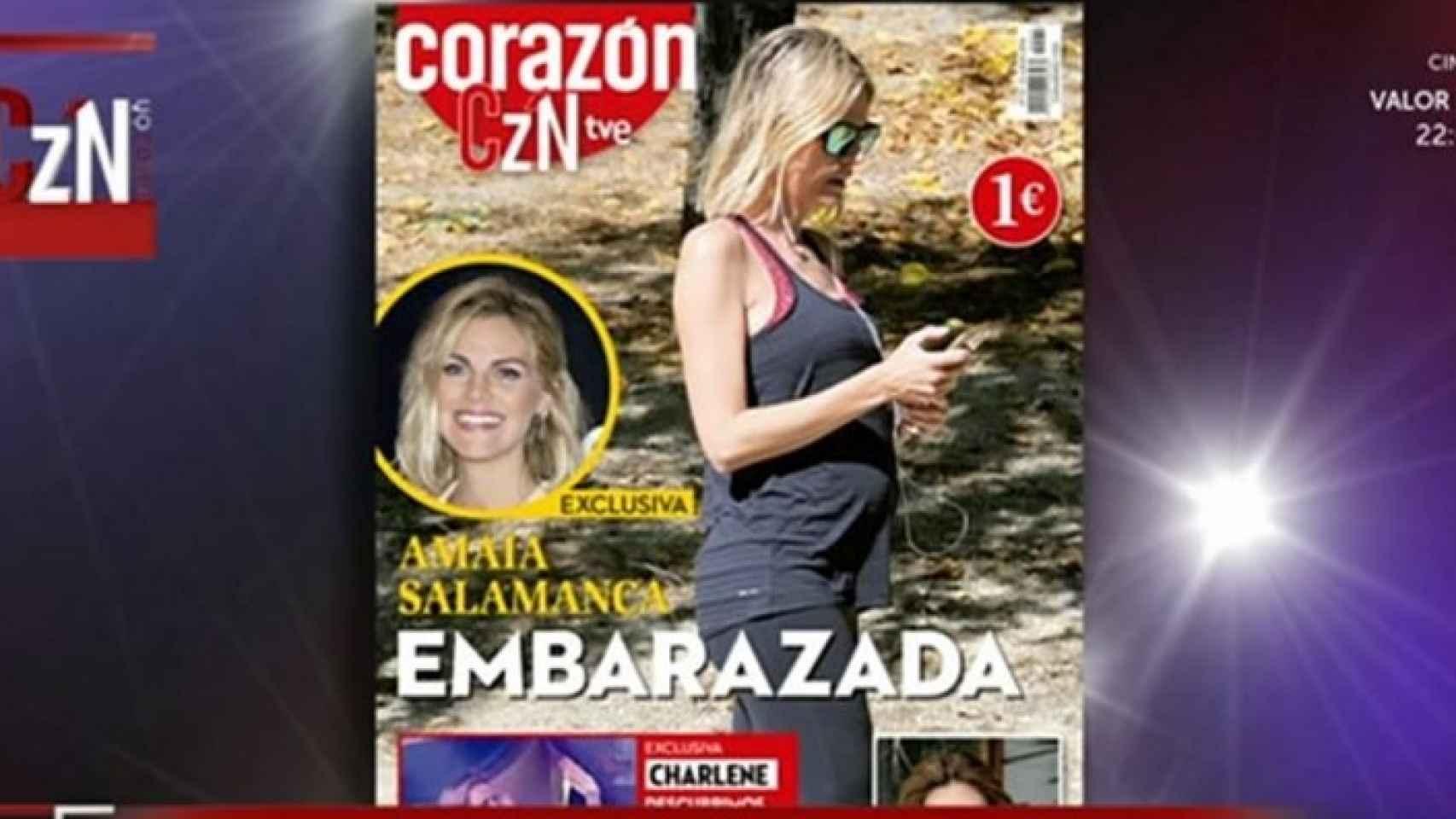 Portada de la revista Corazón TVE