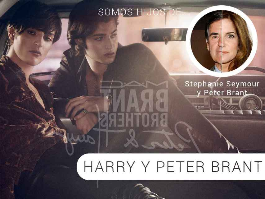 Harry y Peter Brant para MAC