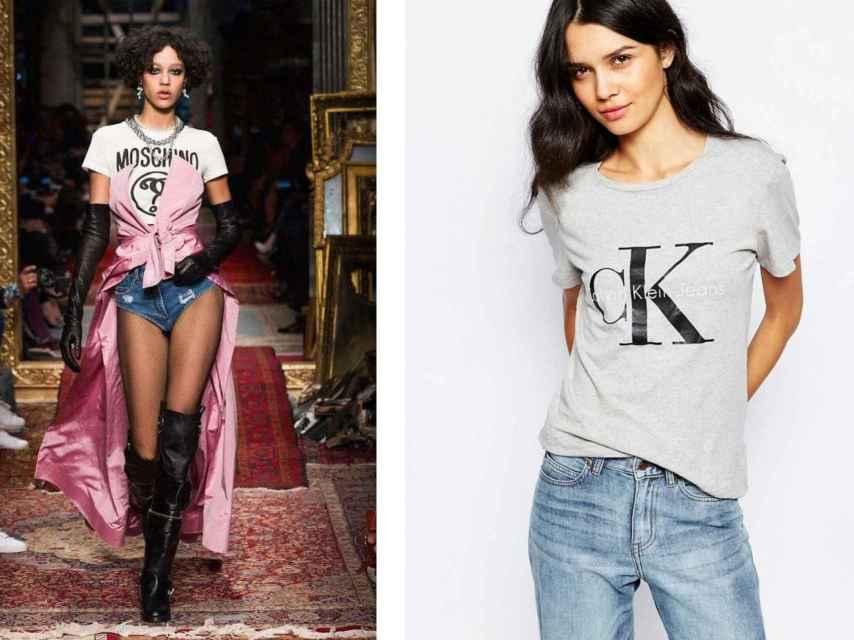 Moschino y Calvin Klein.