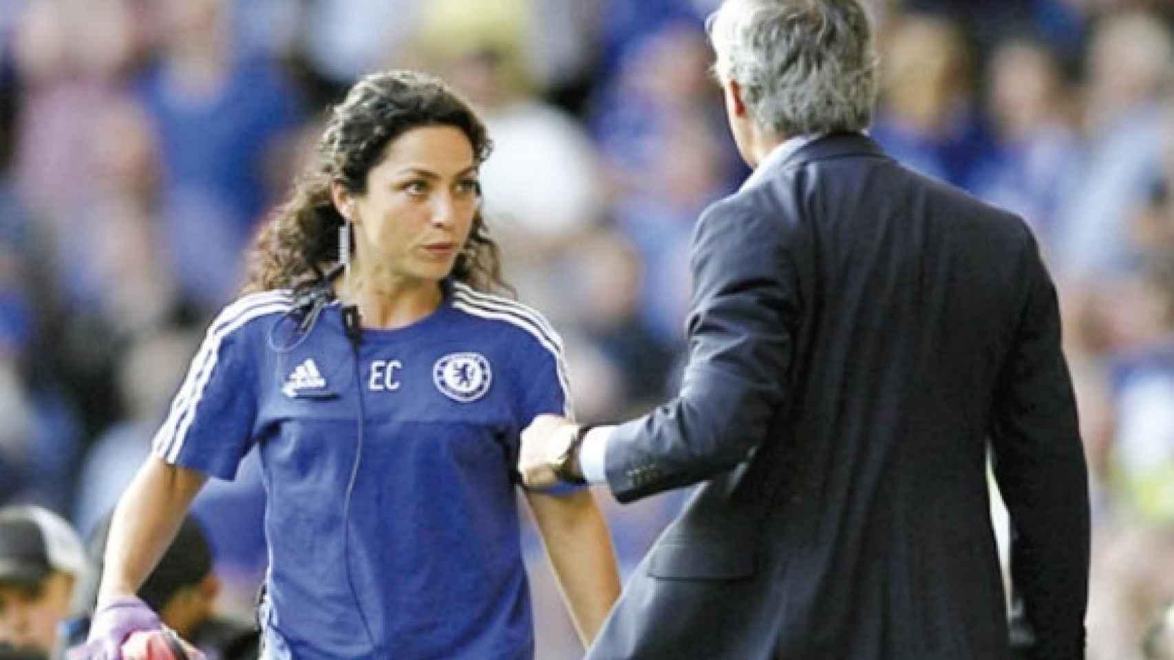 Enfrentamiento entre Eva Carneiro y Mourinho.