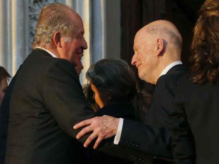 Simeón II de Bulgaria y Juan Carlos I