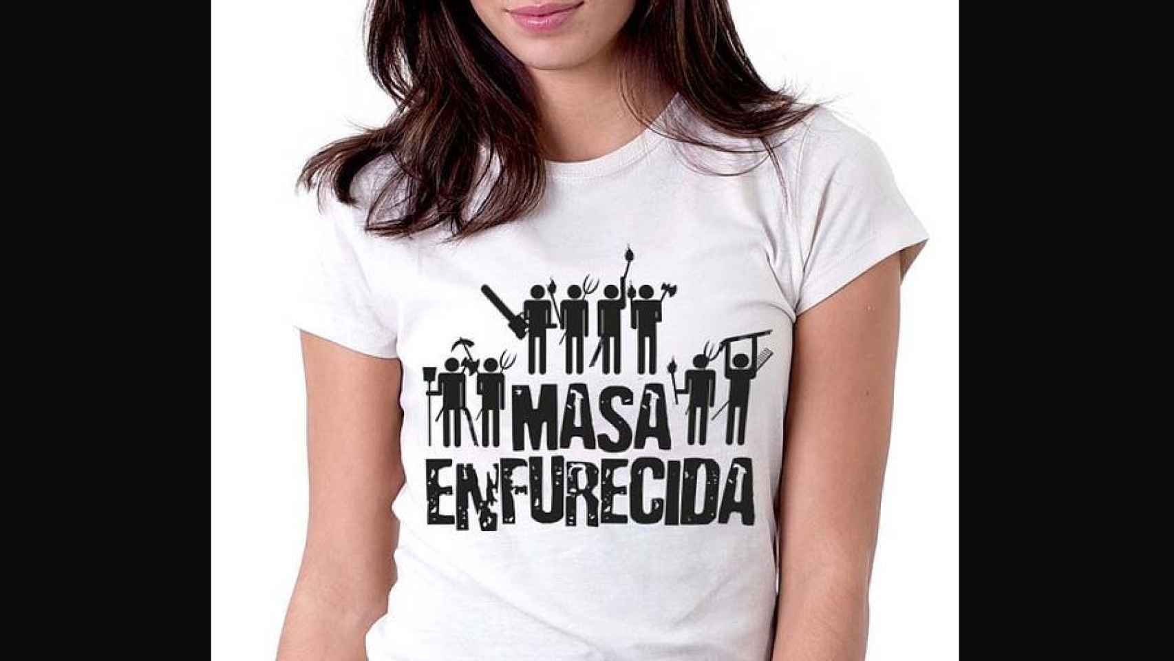 Hubo una época en la que se veían camisetas de Masa Enfurecida en Malasaña.