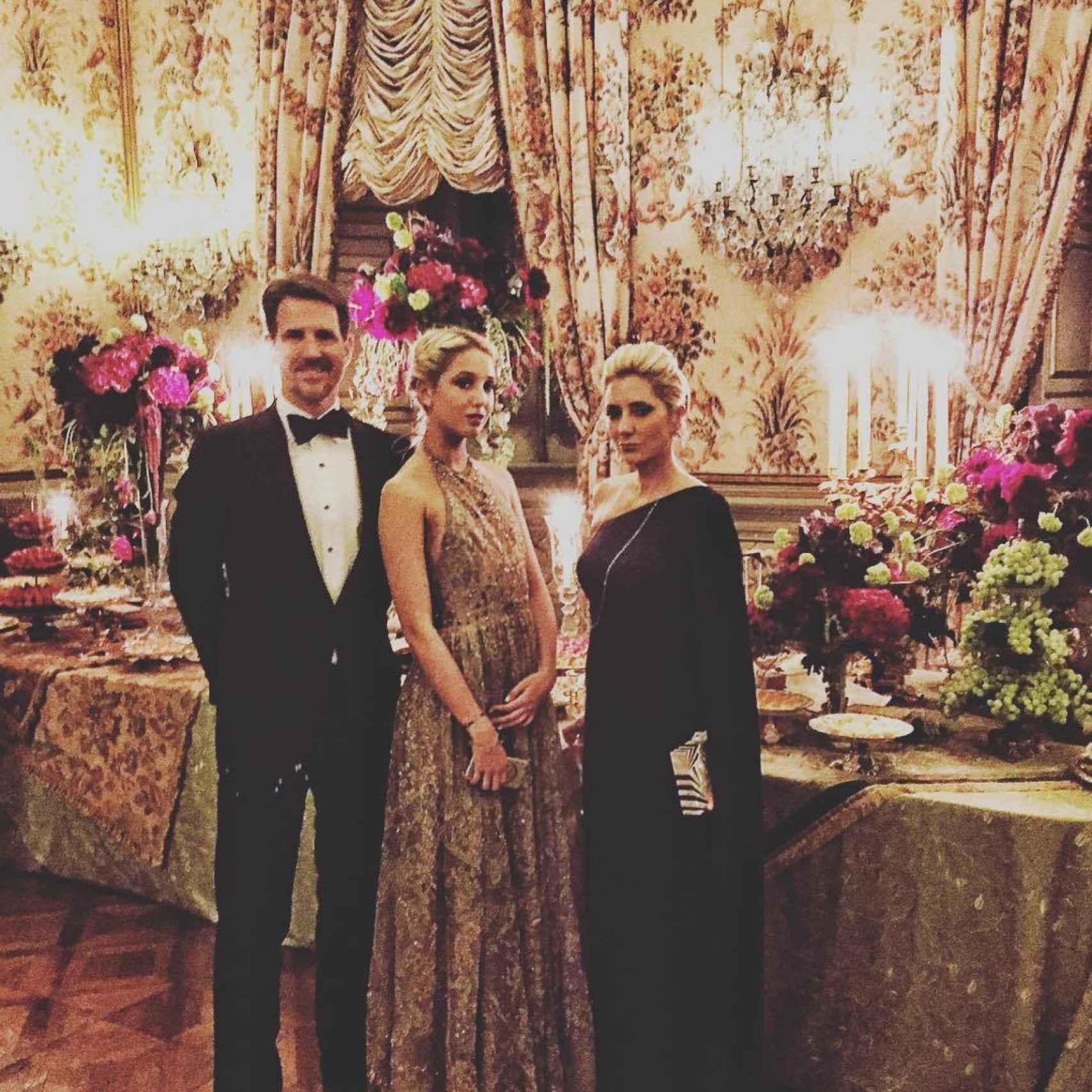 Pablo de Grecia, Marie Chantal Miller y su hija Olimpia de Grecia