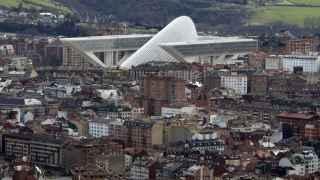 Imagen del Palacio de Congresos de Oviedo, de Santiago Calatrava.