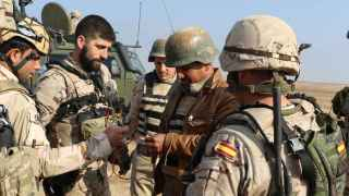 España ya mantiene operativos de adiestramiento en otros escenarios, como Irak (en la fotografía).