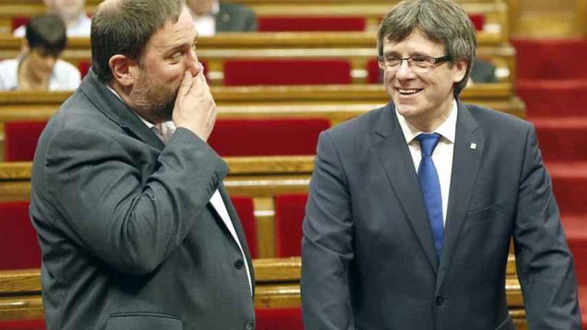 Puigdemont deja la legislatura en suspenso hasta septiembre tras romper con la CUP