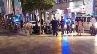 Imagen de las cercanías del centro comercial donde se ha producido el ataque