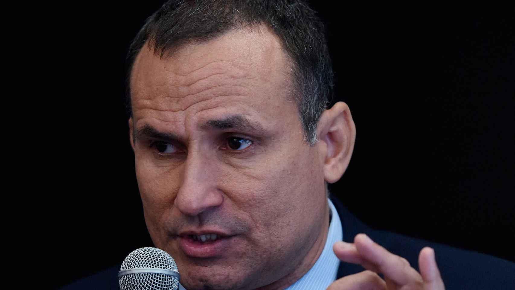El disidente cubano José Daniel Ferrer.