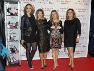 María Teresa Campos con sus hijas Carmen Borrego y Terelu