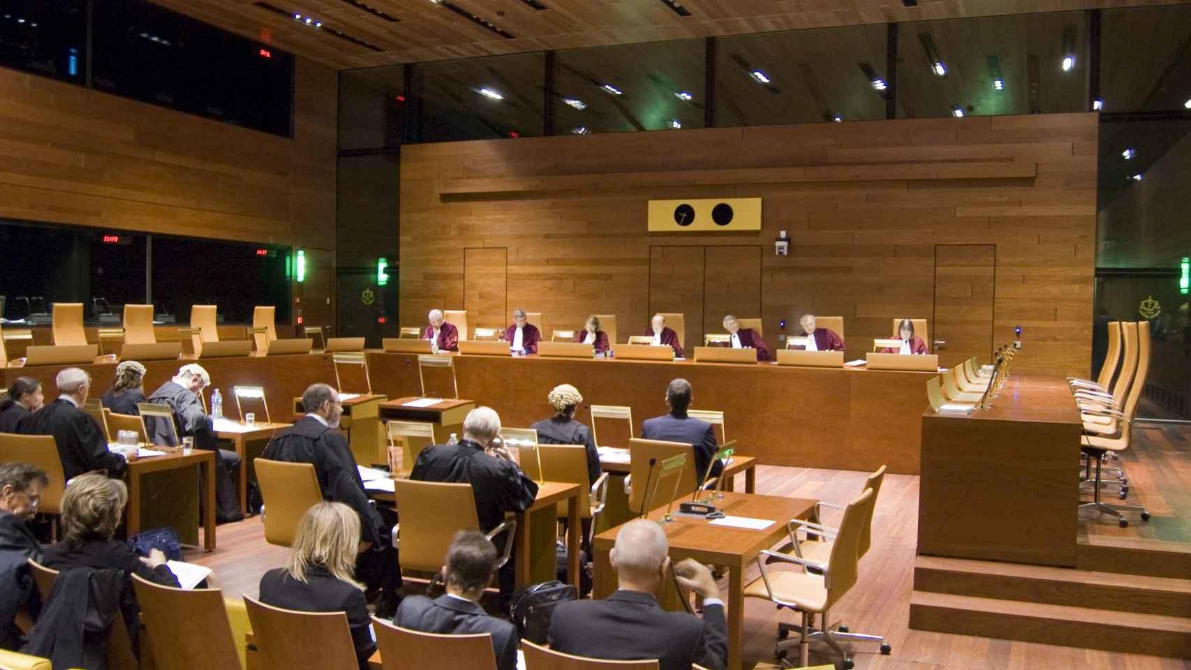 Una audiencia en el Tribunal de Justicia de la UE