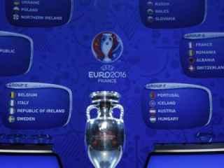 Sorteo de la Eurocopa 2016.